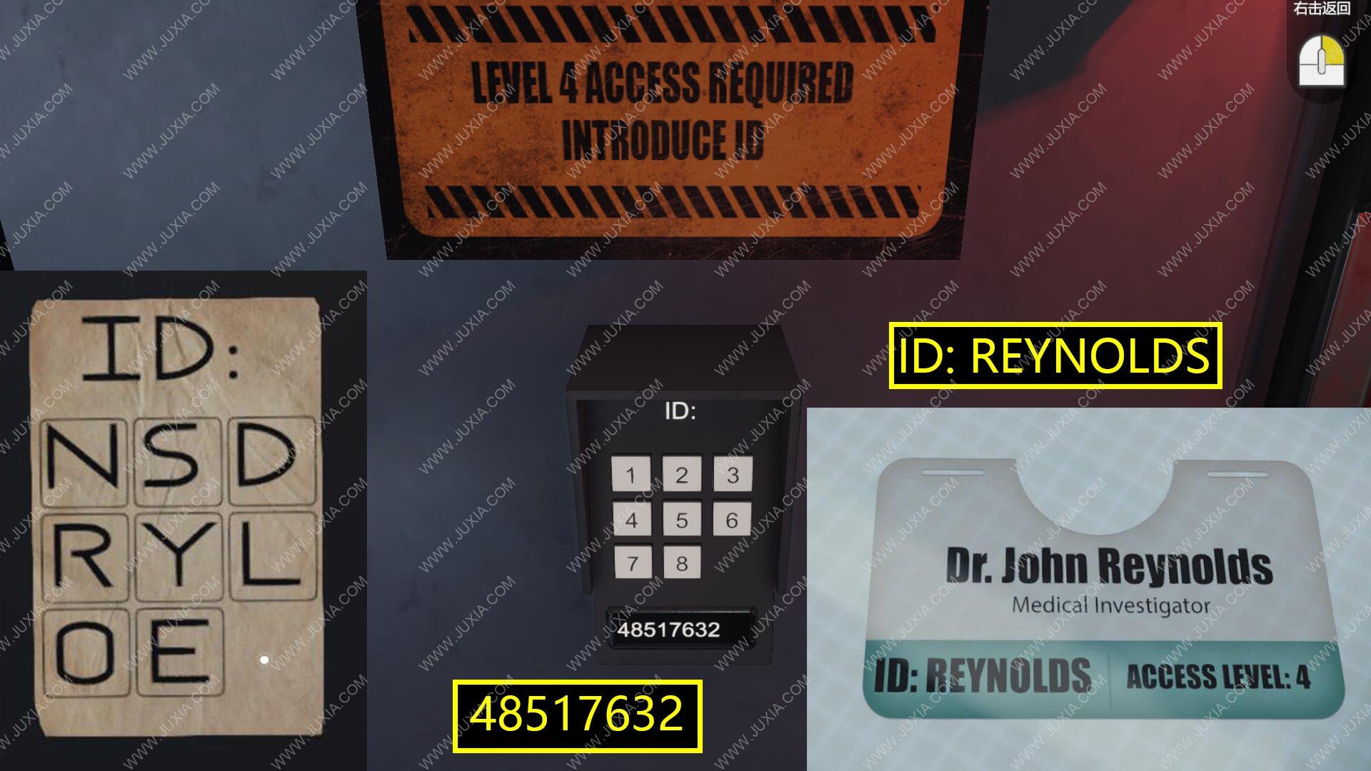 回文综合症逃生室攻略生物实验室 PalindromeSyndrome日记怎么获得