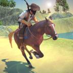 西部牛仔骑马对决