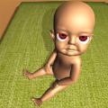 黑屋里的婴儿