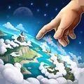 上帝之手创造世界