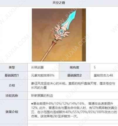 原神攻略香菱武器有哪些选择 香菱武器的选择方案有哪些