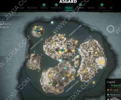 刺客信条英灵殿攻略整个地图到底有多大 AssassinsCreedValhalla攻略整体地图面积全详解