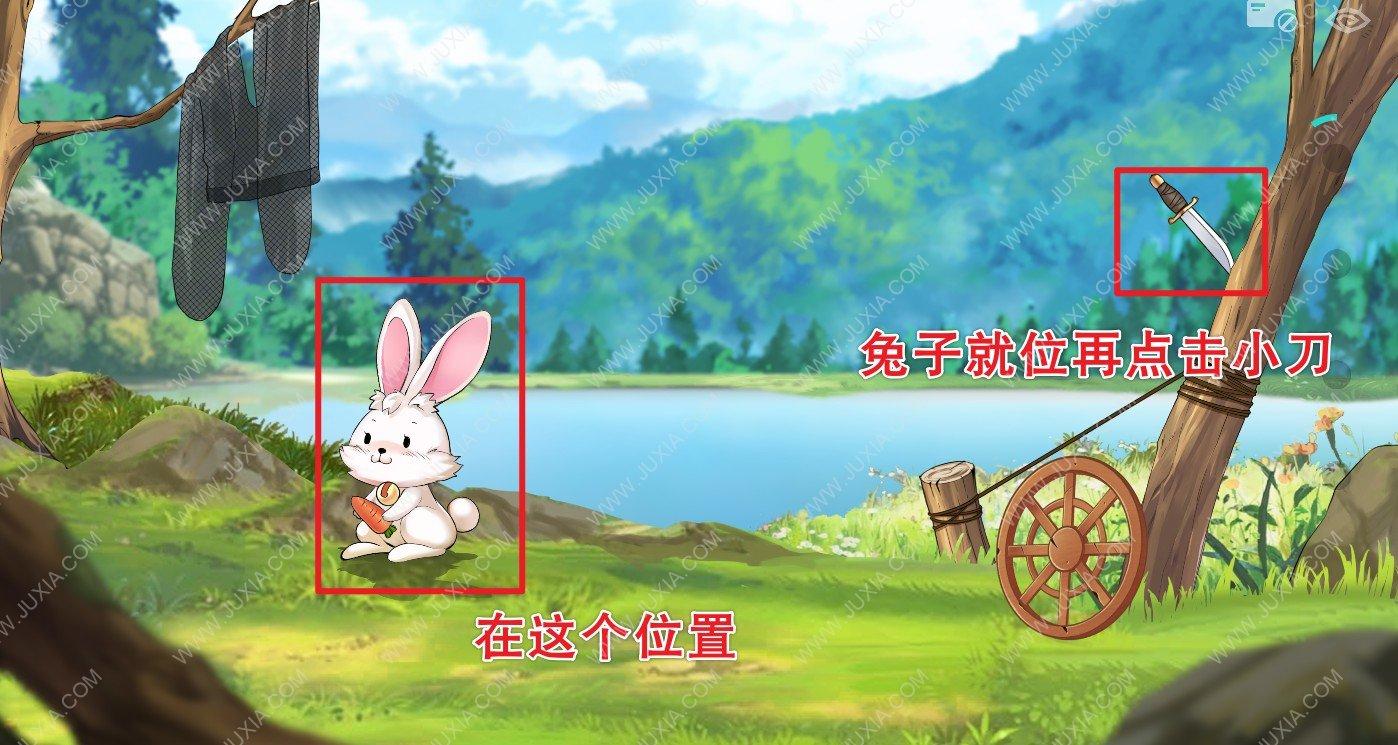 Lost攻略第十八关怎么过 第18关图文详情怎么捉到兔子