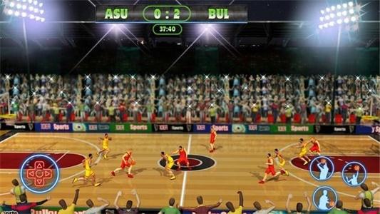 职业篮球超级明星赛截图