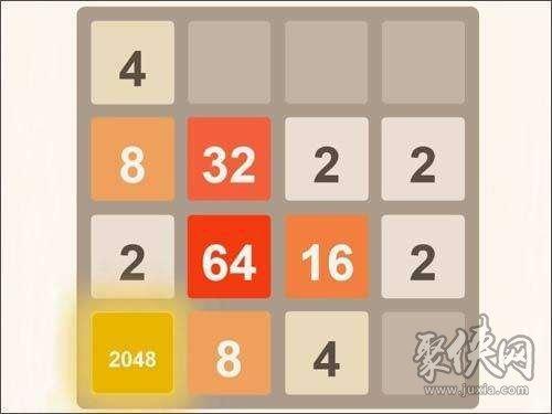 2048游戏怎么玩到高分 2048游戏规则攻略