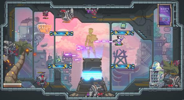 2D横版射击类型游戏重力英雄预告 将会在明年3月31日发行