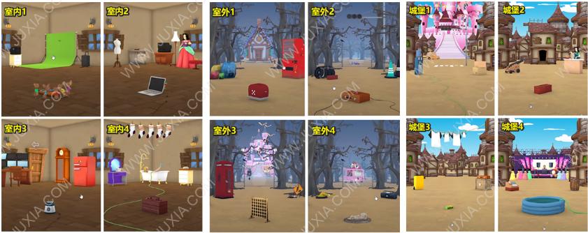 EscapeGameCinderella攻略额外章节下 逃脱游戏灰姑娘水晶鞋位置解析