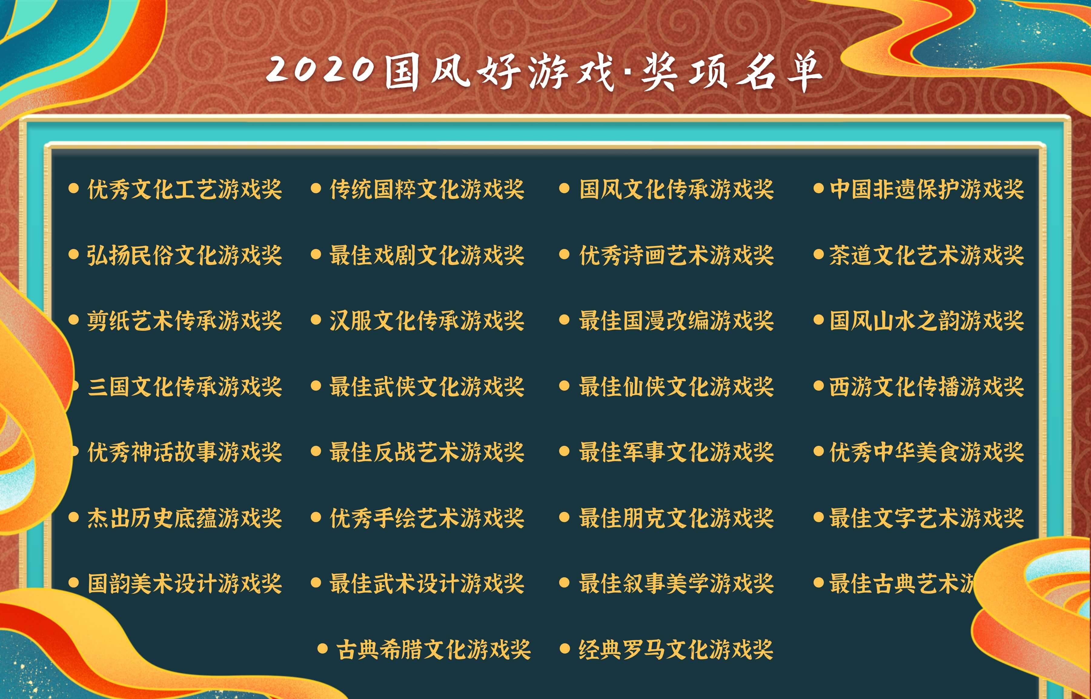 """2020年度""""国风好游戏""""游戏文化评选大赛正式启动"""