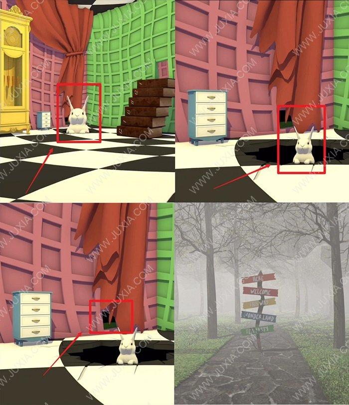 EscapeGame茶会攻略第2部分全图解 逃脱游戏茶会怎么让兔子变小