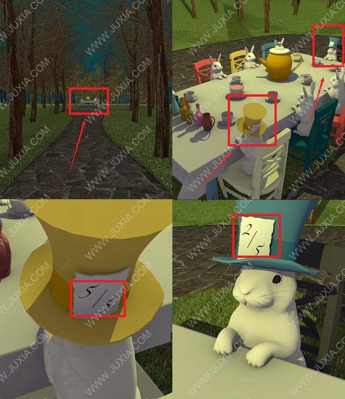 EscapeGameTeaParty游戏攻略锤子获得方法 EscapeGame茶会第三部分图文详解
