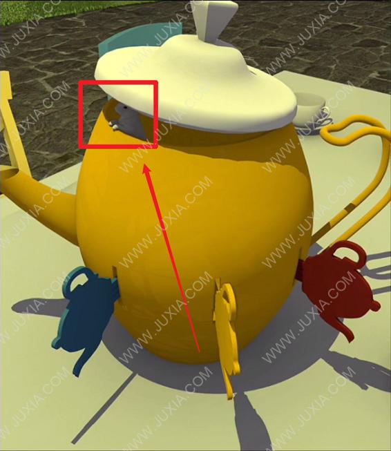 EscapeGameTeaParty彩蛋攻略 逃脱游戏TeaParty找兔子彩蛋全图解
