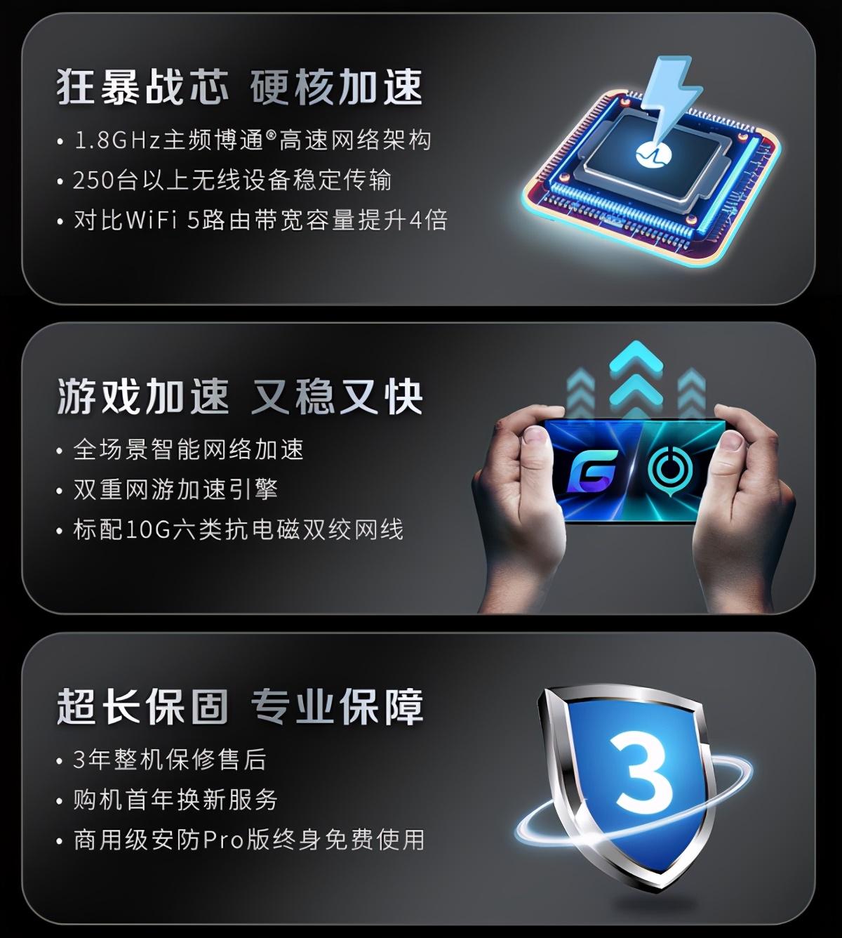 ROG2021新品发布会 华硕WiFi6路由开启电竞新纪元