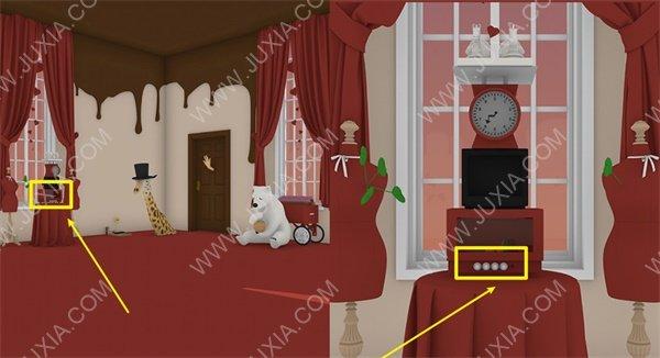 escapegamegift攻略第三部分全图解 escapegame礼物棉花糖怎么获得