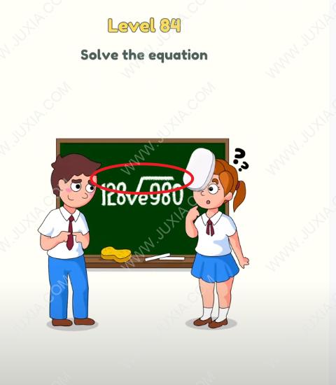 dop2删除一部分81至100关 dop2第84关黑板的公式符号
