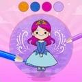 公主彩绘本