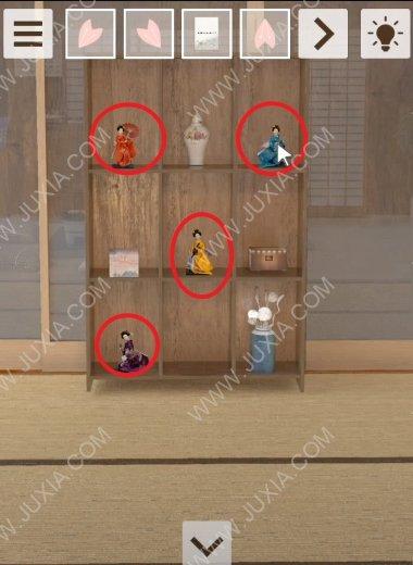 密室逃脫奶奶的惡作劇攻略第三部分 所有的櫻花瓣如何進行獲取