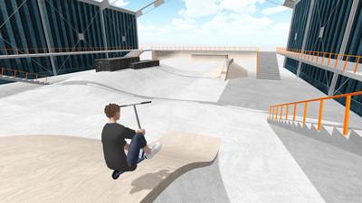 滑板车模拟截图