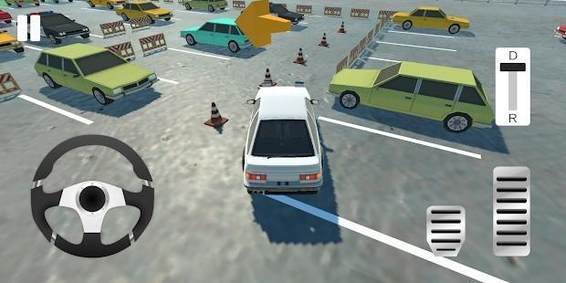 真实的停车场模拟器