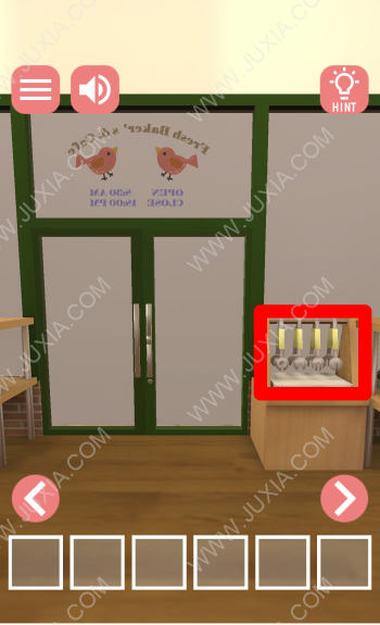 逃脫遊戲新鮮面包店的開幕日遊戲攻略上 逃脫遊戲新鮮面包店裡的字母