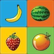 儿童记忆水果