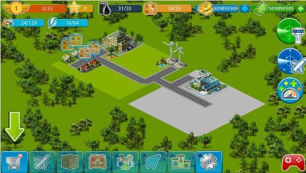 机场城市截图