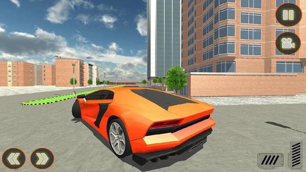 电动汽车模拟驾驶