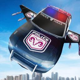 警车变形机器人
