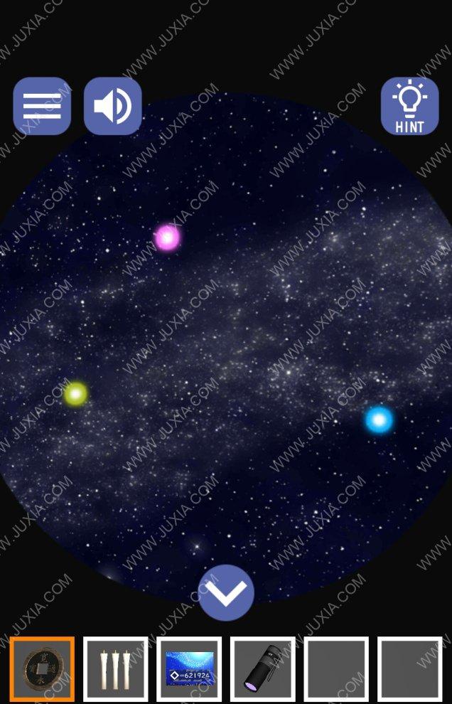 繁星满天的夜晚和萤火虫游戏攻略下 逃脱游戏箱子怎么打开