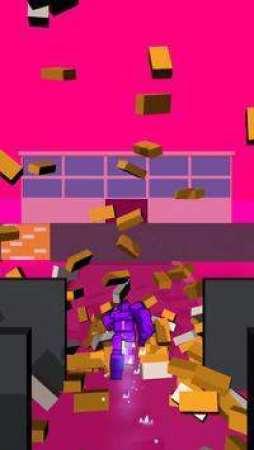 紫人撞墙截图