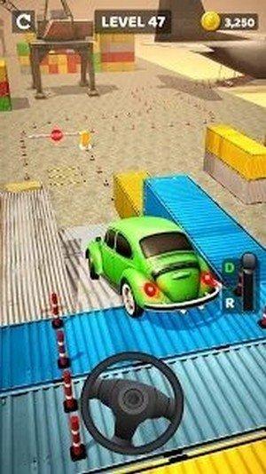 独特的汽车驾驶截图
