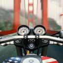 摩托骑士遨游美国