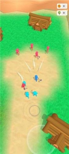 红蓝橡皮人斧头大战截图