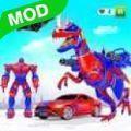 飞行恐龙机器人