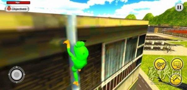 绿色超级英雄