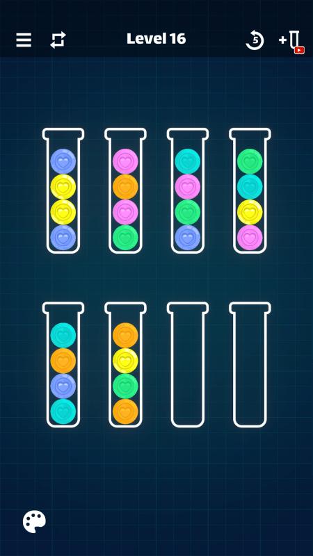 排序色球截图