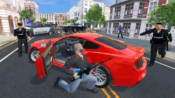 汽车盗窃模拟器截图