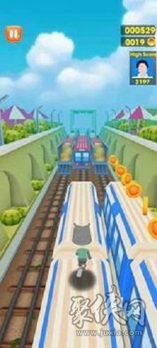 地铁无尽的冲浪奔跑