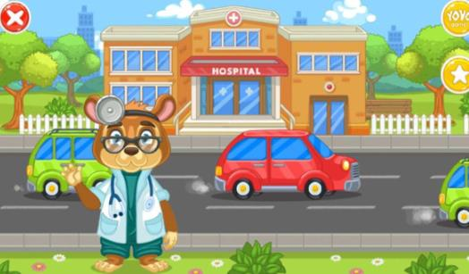 儿童游戏动物医生截图