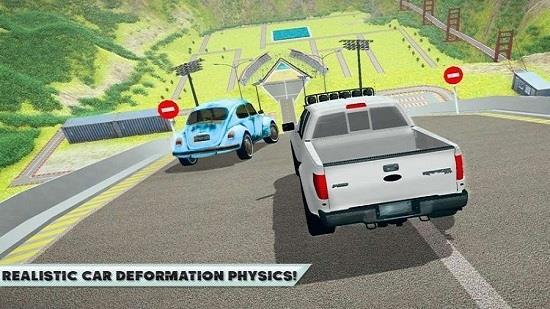 汽车模拟车祸