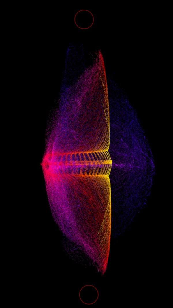 炫彩粒子3D