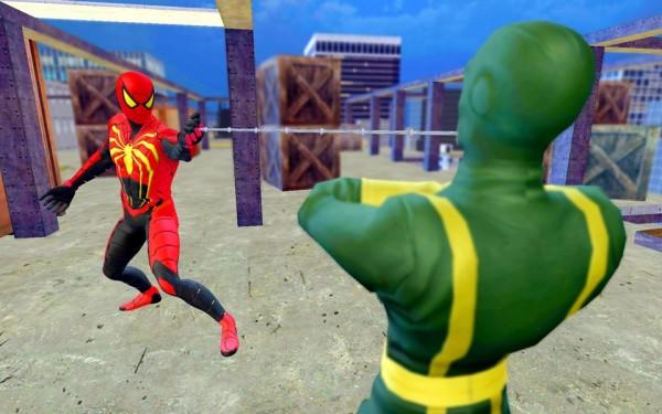 蜘蛛英雄战斗斯特兰截图