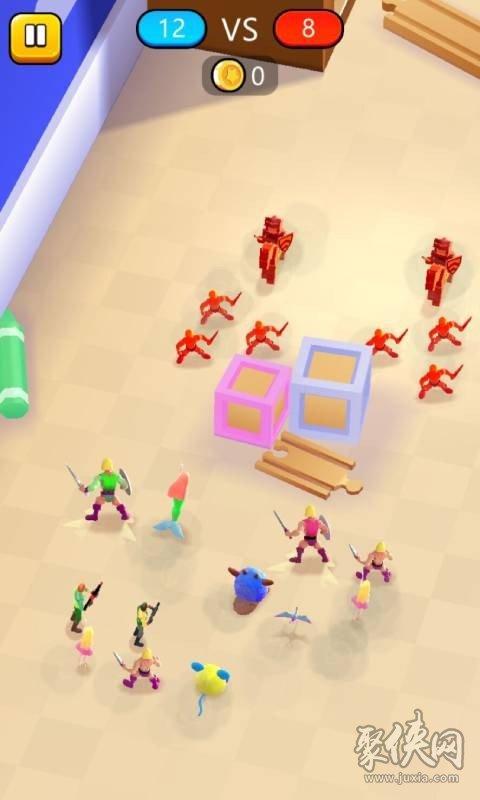 玩具混合模拟器
