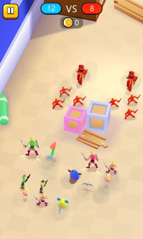 玩具混合模拟器截图