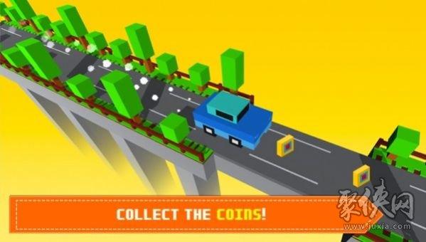 块状桥驾驶