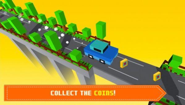 块状桥驾驶截图
