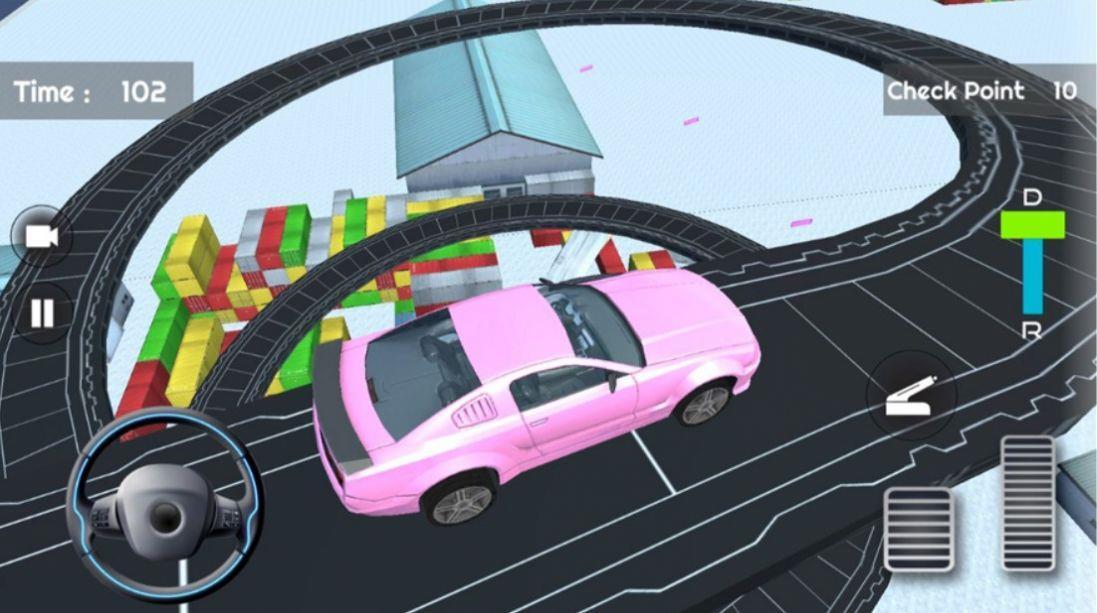 停车场驾校模拟