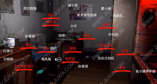 孙美琪疑案刘青春五级线索下攻略 5级线索照片上的字怎么获得