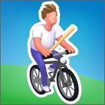 瘋狂的自行車跳