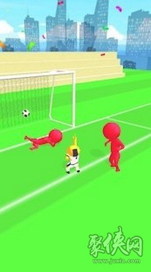 足球得分手