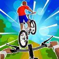 疯狂自行车极限骑行